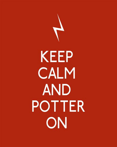 Keep calm - harry-potter Photo