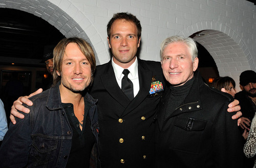 """Keith at """"Act of Valor"""" premiere"""