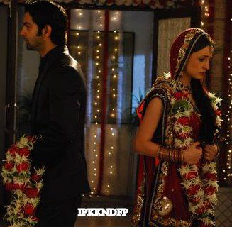 iss pyaar no kya naam doon fond d'écran called Khushi and Arnav