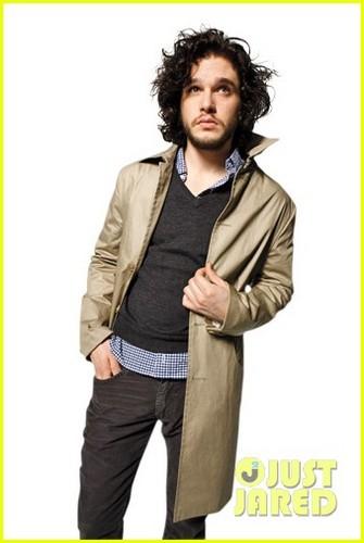 Kit Harington: Shirtless for 'Men's Journal'!