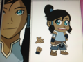 Korra 《K.O.小拳王》 and Aang Pupet