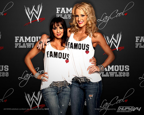 WWE Divas wallpaper titled LayCool