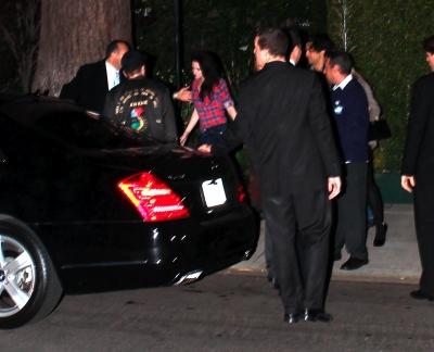 Leaving William Morris Endeavor Party - Feb 24, 2012