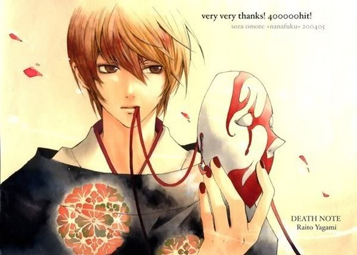 Light Yagami wallpaper probably with a portrait and animê called Light~
