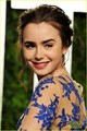 Lily Collins - Vanity Fair Oscar Party - lily-collins photo