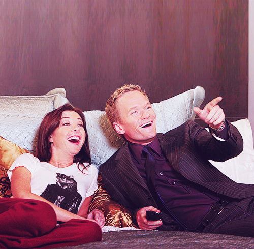 Lily and Barney<3