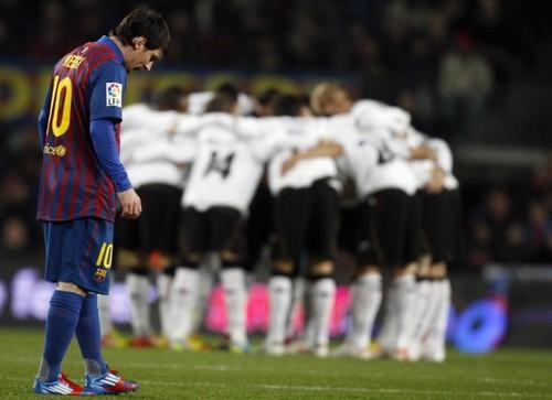 Lionel Messi: FC Barcelona (5) v Valencia CF (1) - La Liga
