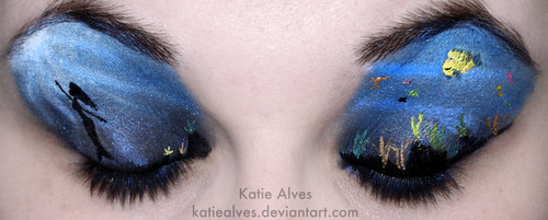 Little Mermaid Eyes