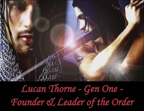 Lucan Thorne - the Order