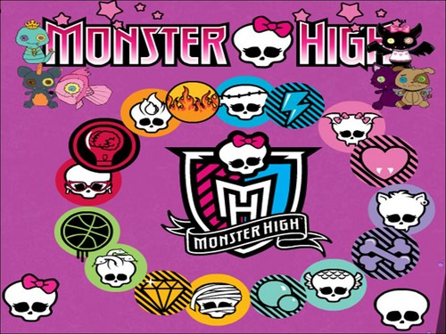 Monster High wallpaper probably with anime titled MH
