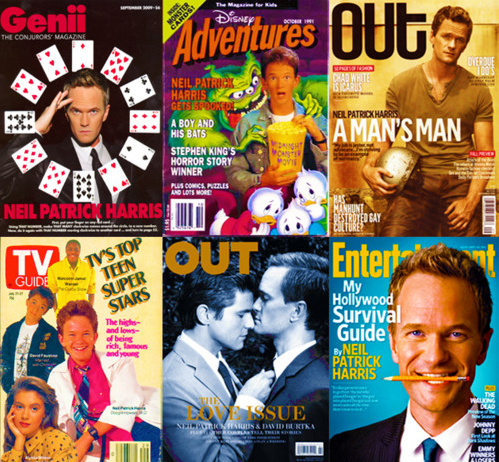 Magazine Covers - Neil Patrick Harris: 1989 - 2012