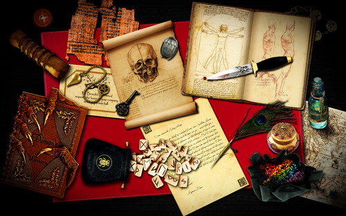 Magnus' escritorio
