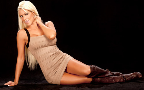 Maryse Ouellet wallpaper possibly containing a leotard, tights, and a bustier called Maryse Photoshoot Flashback