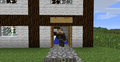 Me at my mansion! - minecraft photo