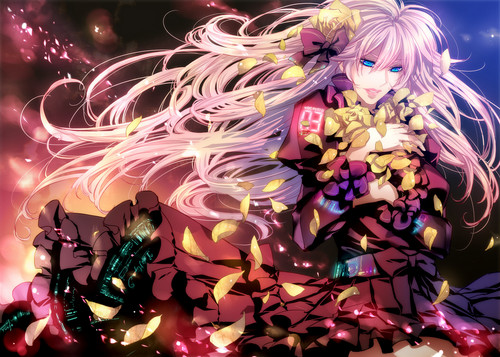 Megurine Luka wallpaper probably with a bouquet entitled Megurine Luka