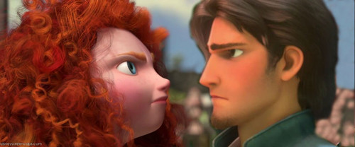 Merida and Flynn