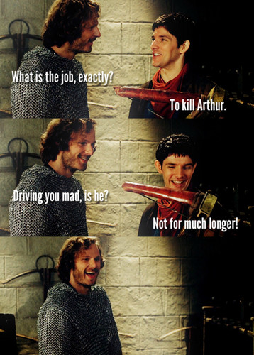 Merlin has a crossbow - the-adventures-of-merlin Photo