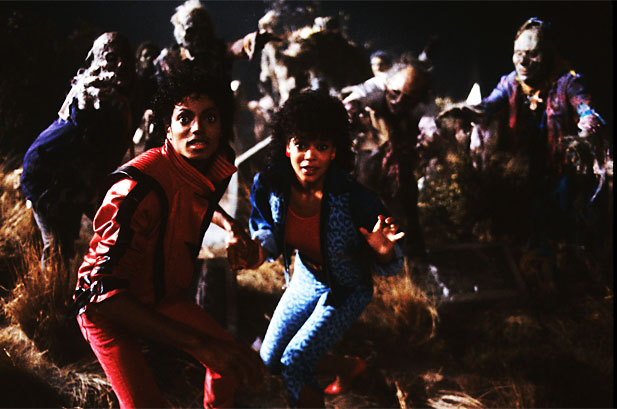 Michael and ola луч, рэй in Thriller