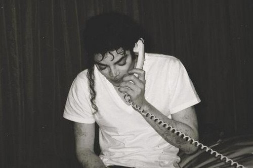 Michael with vitiligo.