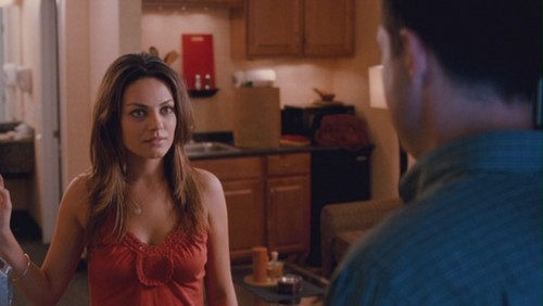 Mila Kunis Hintergrund called Mila Kunis as Cindy in 'Extract'