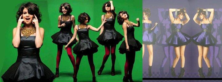 Miley VS Selena [Better In The Kind Of Same Dress]
