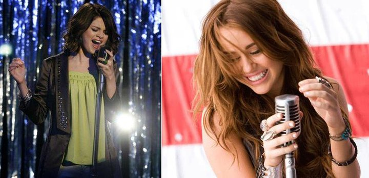 Miley VS Selena [Better With A Mic]