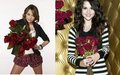 Miley VS Selena [Better With Red Flowers] - miley-cyrus-vs-selena-gomez fan art