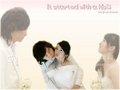 it-started-with-a-kiss - Moments wallpaper