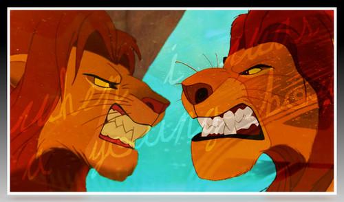 The Lion King پیپر وال containing عملی حکمت titled Mufasa&Simba