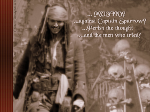 Mutiny - johnny-depp Wallpaper