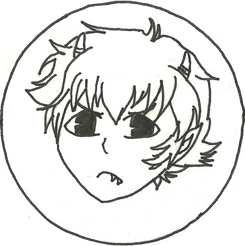 My fail drawing of Karkat