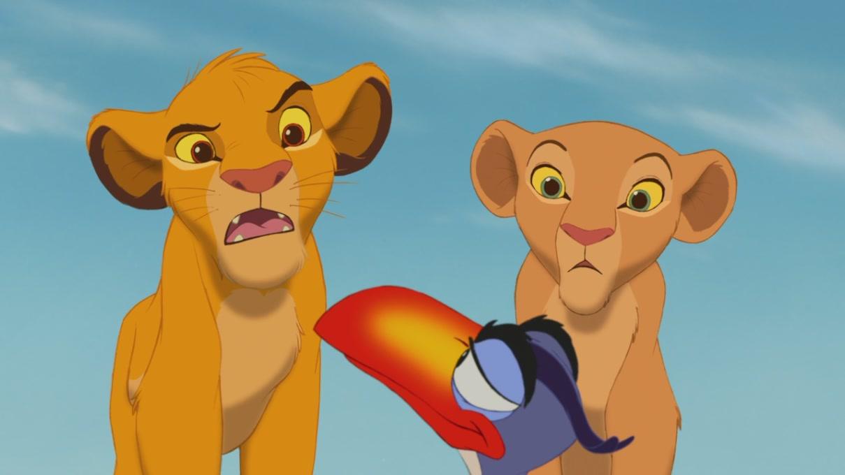 Lion King Simba And Nala Cubs Kissing Lion King Simba And Nala Cubs Kissing