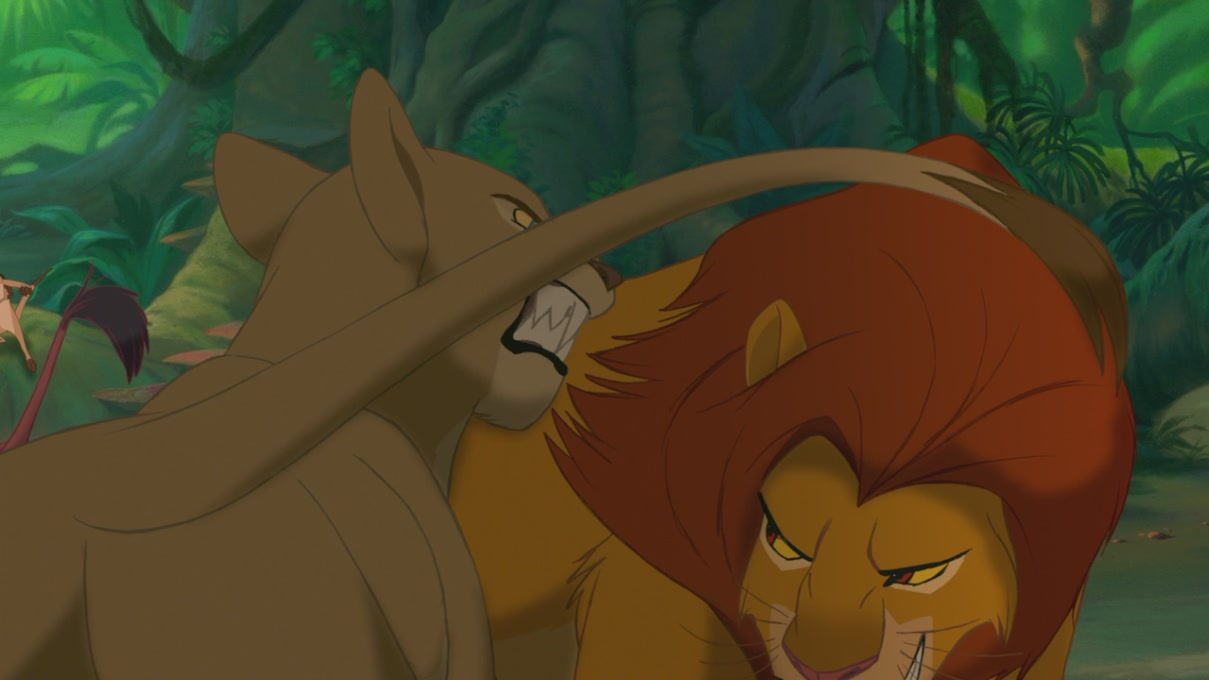 Lion King Simba And Nala Kissing