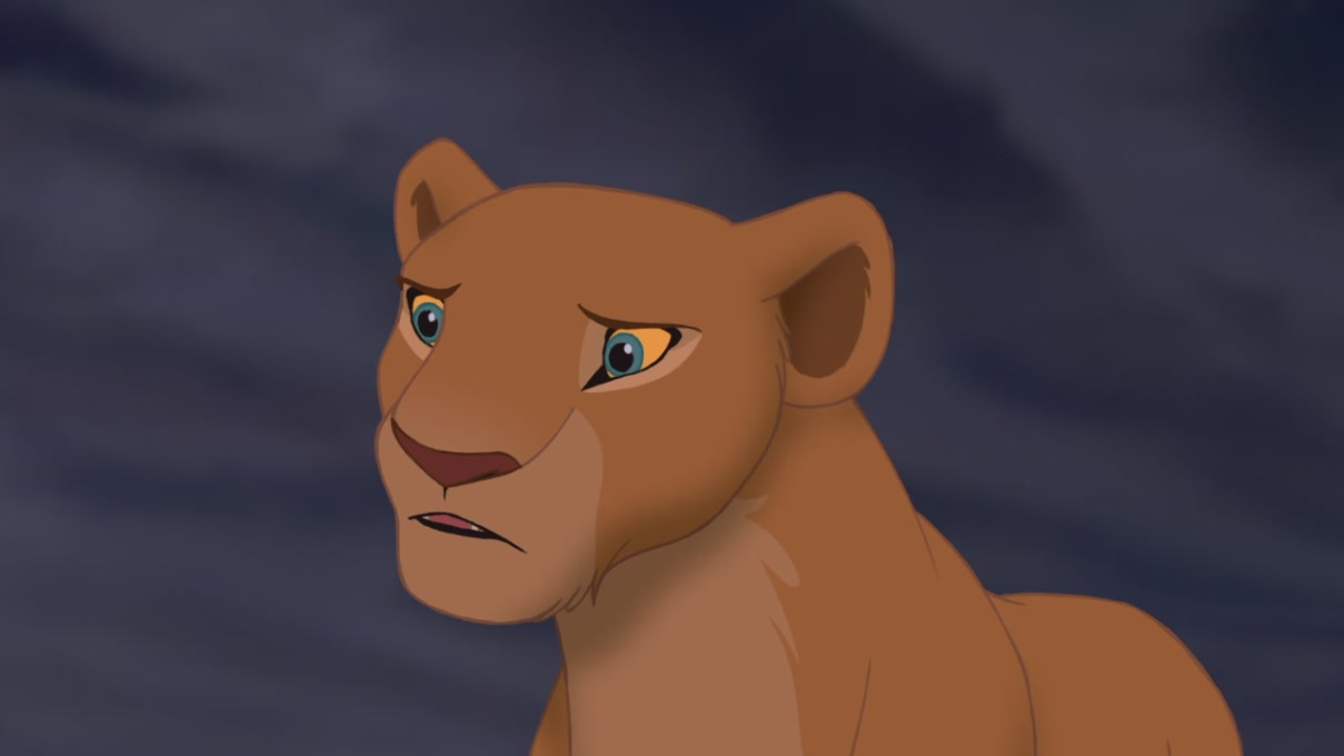 Cartoon Lion King Nala
