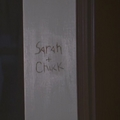Names on the door frame - chuck screencap