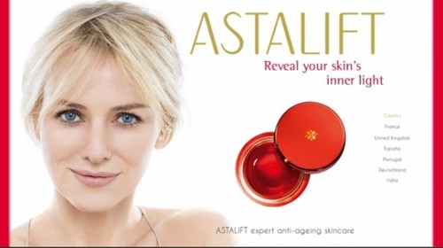 Naomi Watts - Astalift Advert