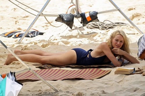 Naomi Watts - On the set of The Grandmothers 2012