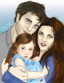 Naw - edward-bella-and-renesmee photo