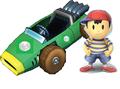 Ness in Mario kart