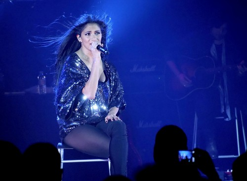 nicole scherzinger fondo de pantalla containing a concierto called Nicole Scherzinger Performs Live in Manchester [22 February 2012]