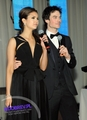 Nina and Ian Elton John's Oscars Viewing Party
