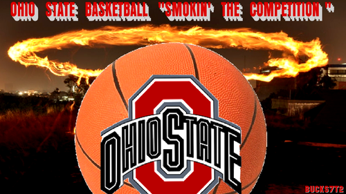 Ohio State universidad baloncesto fondo de pantalla titled OHIO STATE baloncesto SMOKIN' THE COMPETITION