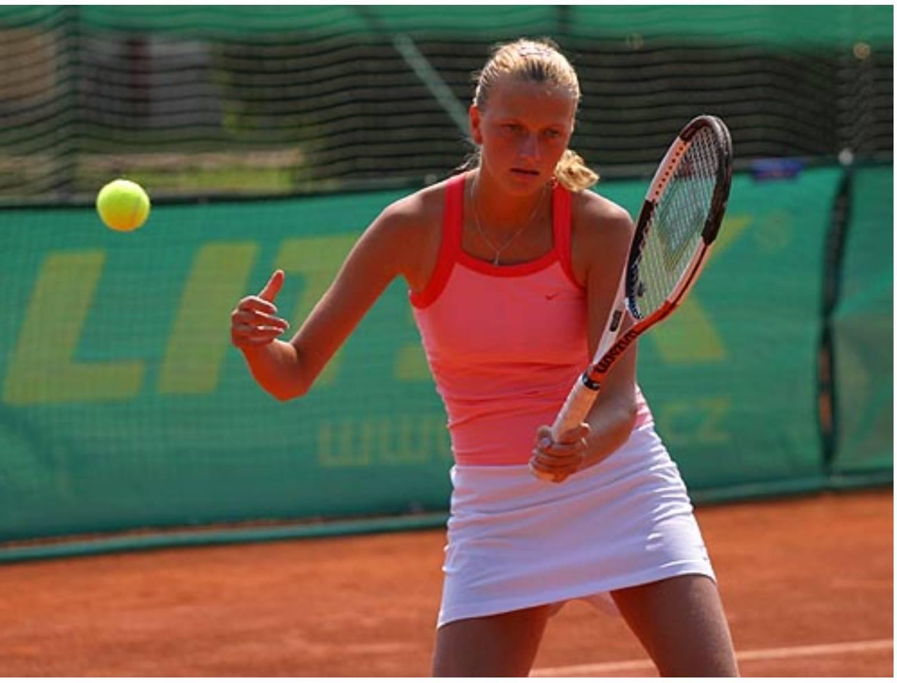 Petra Kvitova young 2
