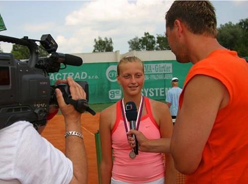 Petra Kvitova young
