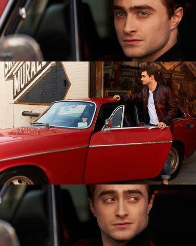 Daniel Radcliffe wallpaper possibly with a minicar, an automobile, and a ski rack called Photoshoot by Mariano Vivanco