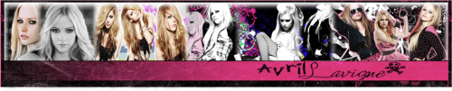 Pink is for Real Banner  - avril-lavigne Fan Art