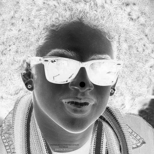 Princeton (Mindless Behavior) wallpaper containing sunglasses entitled Princeton Illusion ;D
