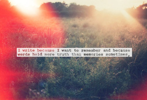 Quote on writing. ^_^