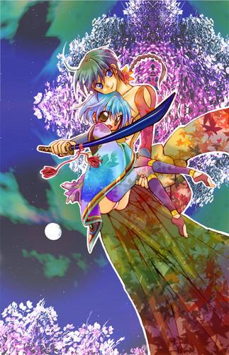 Ranma and Akane (ranma 1/2)