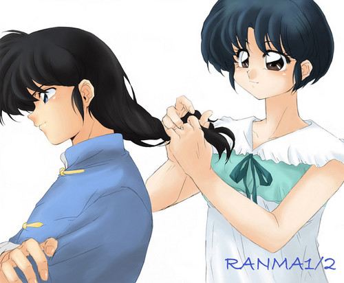 Anime couples images Ranma and Akane (ranma 1/2) HD wallpaper and background photos